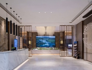 AOD集成设计--重庆蔡家金科博翠山售楼处