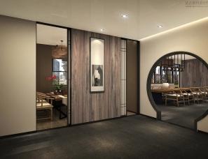 上海户珥设计--办公会所