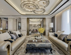 KLID达观国际设计--上海旭辉铂悦西郊别墅样板房