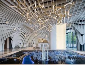 达观国际设计凌子达--上海建发展示中心