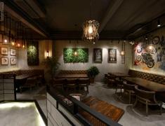 简美组空间设计--9号音乐主题餐厅