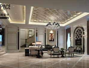 【威利斯空间设计】浙江台州玉环市438平米独栋别墅--新古典