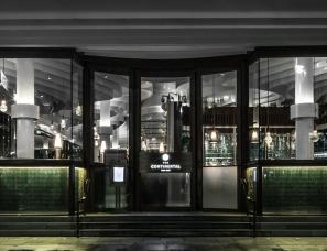 香港The Continental咖啡厅改造设计