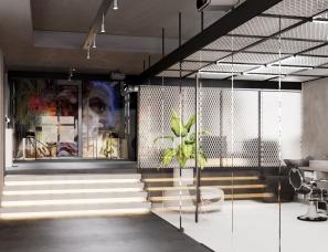 Zrobym Architects--明斯克 BARBER&CO 美发店