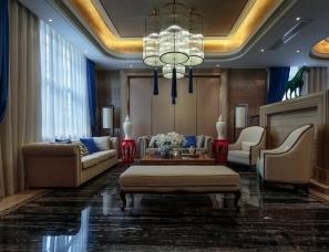 豪笙印溢 刘卫军设计--长沙中建梅溪湖一号别墅样板间