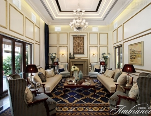 香港黄志达设计--深圳曦城四期独栋别墅