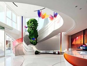 杜文彪设计新作--南京中海左岸澜庭售楼部