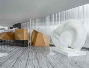 重庆尚壹扬设计--中央公园中交地产售楼部