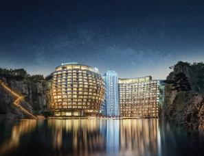 香港郑中设计--世茂深坑洲际酒店室内