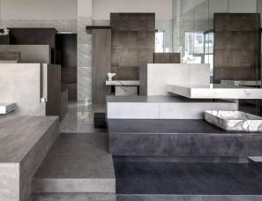 埂上设计事务所--拾级而上—密丝特安瓷砖展厅设计