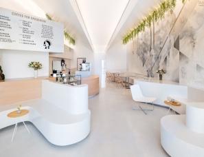 Dan Brunn Architecture设计--洛杉矶大脚怪咖啡厅