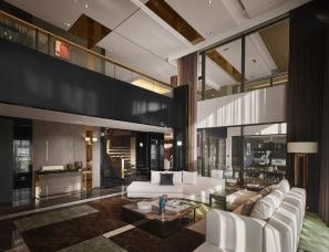 刘荣禄国际空间设计--泉州卡飒明筑样板房