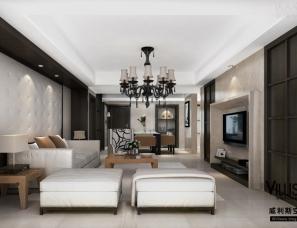 【巫小伟/威利斯空间设计】世茂运河城102平米公寓房---后...