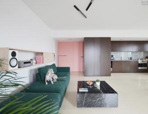 Grzegorz Layer设计--惠普特斯的公寓