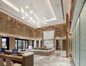 上海颐居装饰设计 | 御兰雅苑售楼处