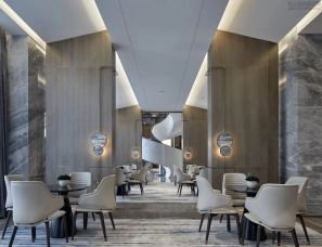 集艾设计--宁波海语天下售楼中心