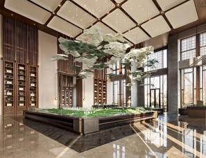 集艾设计黄全新作--新城玺樾销售中心