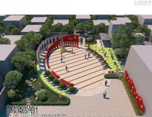 党建案例:党建文化公园——杨强设计