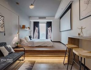 A加设计事务所设计--重庆民宿睡在山海间