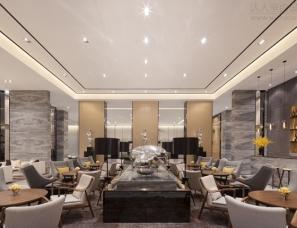 深圳李益中设计--济南中建新悦城售楼处