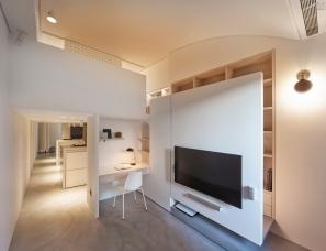 馥阁设计--《纯》30m²两姐妹的机能小宅