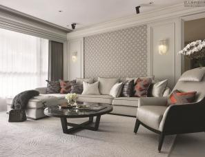 缤纷设计--新古典风格的艺术住宅