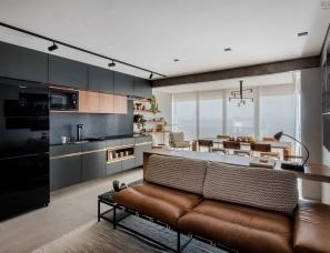 rua141设计--巴西70㎡现代公寓