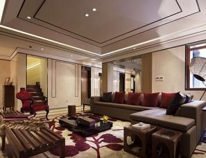 HSD琚宾设计--北京燕西华府437平联排别墅