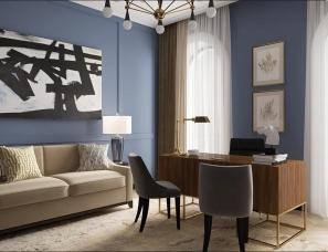 俄罗斯USUBYANA INNA设计--公寓