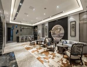 上海域正装饰设计--无锡万科商业接待中心