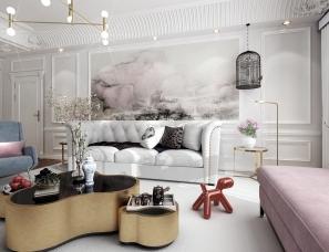 朱磊设计---时尚摩登住宅设计方案
