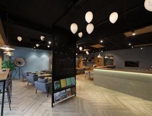 羽筑空间--台湾工业风格餐厅