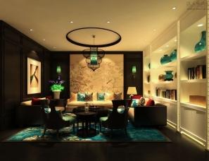 香港古兰装饰 店面设计项目项目名称:千玉珠宝店,