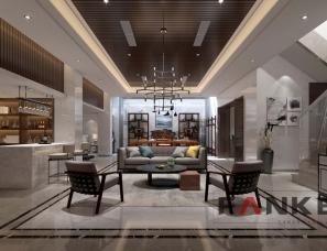 新中式风格—苏州中信森林湖别墅