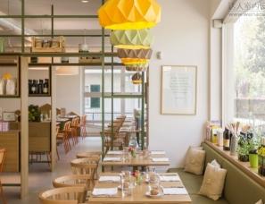 Emanuele Durola Design设计--Pulcino Bio有机餐厅
