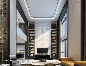 厦门东星设计-720m²新中式别墅设计方案