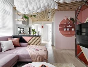 怀生国际设计--桃园 Y House住宅 66m²