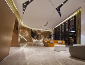 广州燕语堂装饰设计--保利翡翠公馆售楼中心