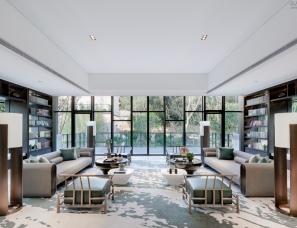 """卡纳设计--和家园:""""生长""""在山中的宋代美学售楼处"""