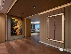 谭精忠设计--西安中大国际九号高端住宅项目B户样板房