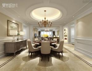 昊然设计--广州金海岸花园黄宅,280㎡大平层