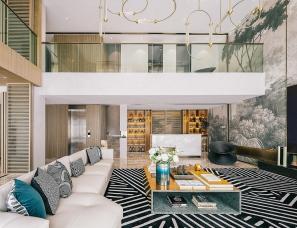 AOD艾地设计--500㎡ 山间豪宅,与自然同居