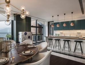 Dariel Studio设计--深圳华润银湖蓝山项目顶层公寓