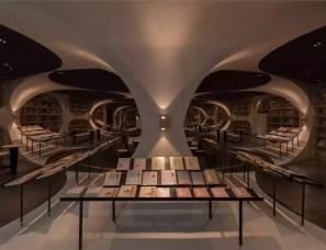 唯想建筑李想设计--扬州钟书阁书店