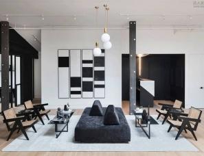 James Davison设计--纽约布鲁克林创意办公室