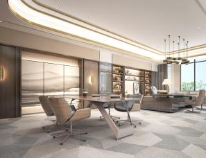 深圳尚博空间设计--深圳德彩光电总部办公楼
