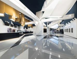 Oft Interiors Ltd设计--上海梅龙镇广场 UA Cinemas