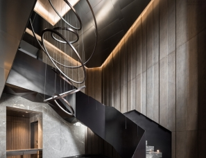 近境制作唐忠汉新作--沈阳私人住宅顶层复式540m²
