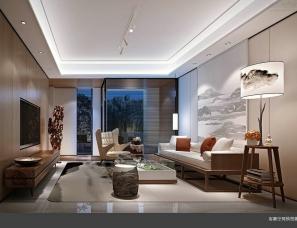深圳昊泽空间设计——上海建发泗凤路Y1户型样板房