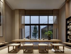 CCD郑忠设计 | 广州华润天合别墅设计
